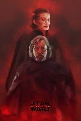 Star wars gwiezdne wojny – ostatni jedi – bohaterowie - plakat premium wymiar do wyboru: 40x50 cm