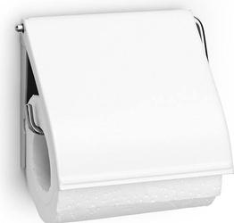 Uchwyt na papier toaletowy classic biały