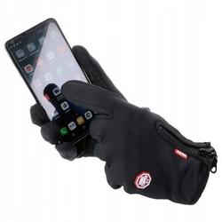 Rękawice zimowe dotykowe na rower rkw2-s rozm. s