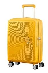 Walizka kabinowa american tourister soundbox 55 cm powiększana - yellow