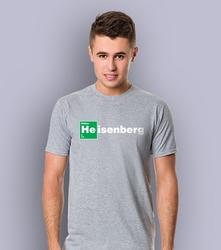 Heisenberg t-shirt męski jasny melanż l