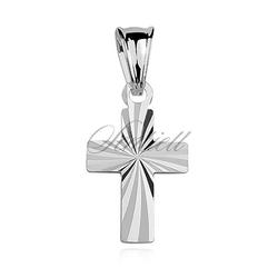 Srebrny pr.925 krzyżyk