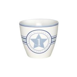 Kubek latte no1 indigo green gate