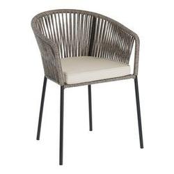 Krzesło ogrodowe yano szare