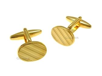 Spinki do mankietów gold oval sd-1272