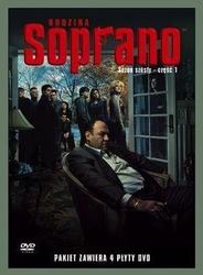 Rodzina soprano, sezon 6. część 1 4 dvd płyta dvd