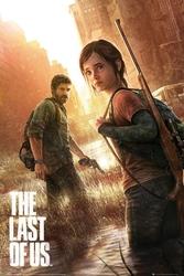The last of us key art - plakat