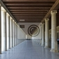 Fototapeta stoa attalos w ateny, grecja