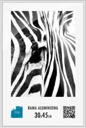 Srebrna rama aluminiowa 30x45 cm