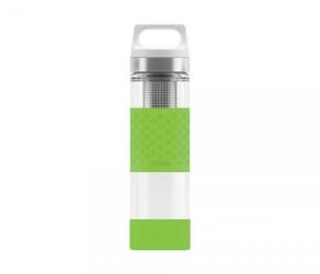 Termos szklany sigg wmb z zaparzaczem hot amp; cold glass 400 ml zielony