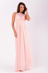 Evalola sukienka pudrowy róż 51004-1