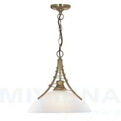 Linea lampa wisząca 1 patyna szkło
