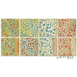 Ozdobne papiery 15x15 The old times spring - TOTS