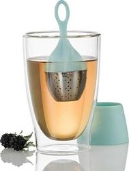 Zaparzaczka do herbaty błękitna floatea
