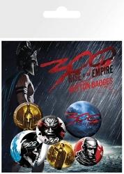 300: początek imperium - przypinki