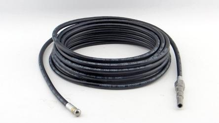 Wąż do czyszczenia kanalizacji 15 m, m22x1,5, dn5, 200 bar, czarny