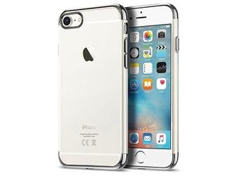 Etui alogy liquid armor apple iphone 66s srebrne - srebrny