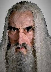 POLYamory - Saruman, Władca Pierścieni - plakat Wymiar do wyboru: 40x60 cm
