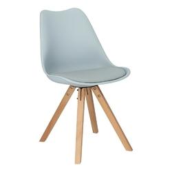 Krzesło norden star square pp szare - szary
