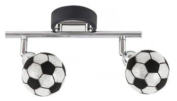 Lampa spot piłki football 2x4w g9 4472 frankie