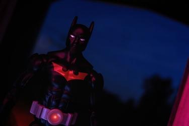 Batman przyszłości - ver1 - plakat wymiar do wyboru: 59,4x42 cm