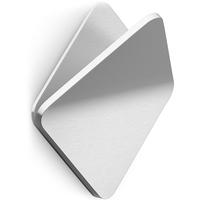 Wieszak stalowy, kwadratowy na ręcznik olfo zack 40348
