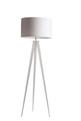 Zuiver lampa podłogowa tripod biała 5000802