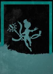 League of legends - janna - plakat wymiar do wyboru: 20x30 cm