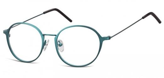 Lenonki zerowki oprawki okulary korekcyjne 971f zielone