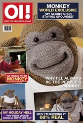 Monkey magazine - plakat