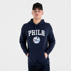 Bluza z kapturem New Era NBA Team Philadelphia 76ers Logo - 11546166 - Philadelphia 76ers