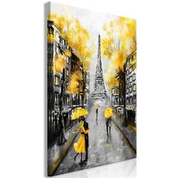 Obraz - jesień w paryżu 1-częściowy pionowy