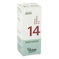 Biochemie pflueger 14 kalium bromat.d 6 tabl.