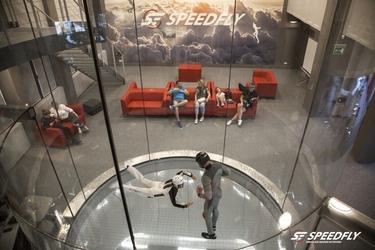 Tunel aerodynamiczny - katowice - 3 minuty