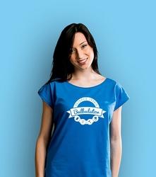 Potrafię zrobić bulbulator t-shirt damski niebieski xxl