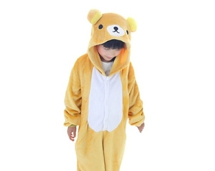 Kombinezon onesie piżama dla dzieci kuma bear