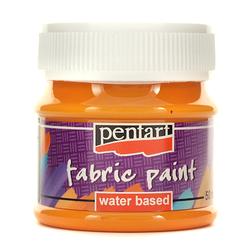 Farba do tkanin Pentart 50 ml - pomarańczowy - POM
