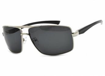 Okulary męskie dla kierowców aviator polaryzacyjne pol-14b