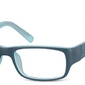 Oprawki zerowki korekcyjne sunoptic cp158b niebieskie