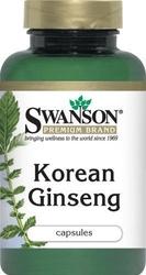 Swanson korean ginseng żeń-szeń 500mg x 100 kapsułek