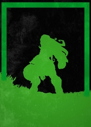 League of legends - illaoi - plakat wymiar do wyboru: 21x29,7 cm