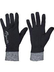 Rękawiczki biegowe rogelli marta  czarne