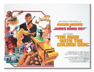 James bond the man with the golden gun landscape - obraz na płótnie