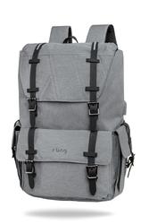 Plecak antywłamaniowy r-bag packer gray - z012 - packer gray