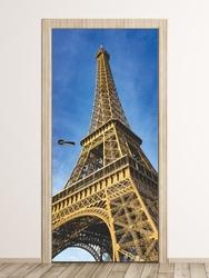 Fototapeta na drzwi wieża eiffla fp 6143