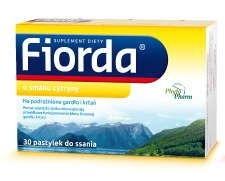 Fiorda o smaku cytryny x 30 pastylek do ssania