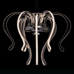 Luksusowa lampa wisząca, zwisające ramionami led regenbogen megapolis 661015209