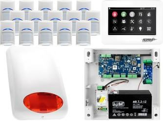 Zestaw alarmowy ropam neogsm-ip 15 x czujka bosch manipulator dotykowy tpr-4ws wifi gsm
