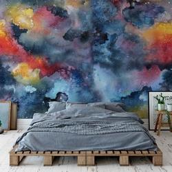 Tapeta na ścianę - artistic galaxy , rodzaj - tapeta flizelinowa