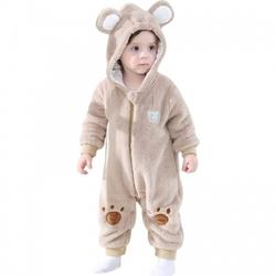 Piżama onesie kigurumi dla dzieci miś brązowy